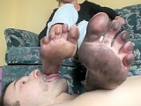 Polish mistress dirty feet