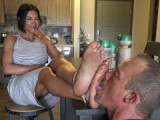 Goddess zephy dirty feet 4