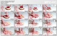 Crush fetish strawberry cake